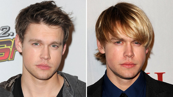 'Glee' Heartthrob Chord Overstreet Cuts His Hair
