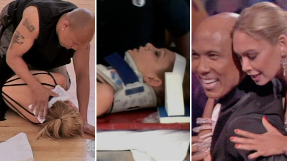 Video: Kym Johnson's Horrifying Fall on 'Dancing with the Stars'