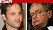 Kirk Cameron -- Stephen Hawking Is WRONG!!!!!