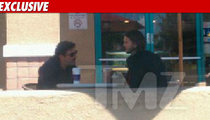 Ashton & Chuck -- Power Meeting at Coffee Bean