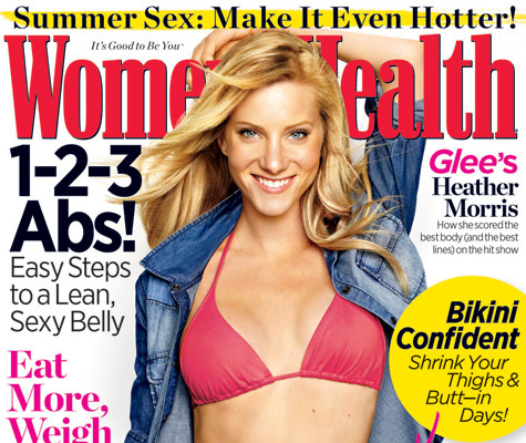 'Glee' Star Heather Morris Flaunts Bikini Bod!