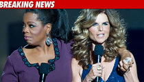 Maria and Oprah Rip Arnold During Finale