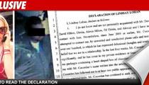 Lindsay Gets Restraining Order -- Fears Sexual Assault