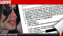 Creditor's Claim:  Michael Jackson Gave Me Herpes