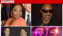 Oprah's HUGE Finale Party -- Seinfeld, Hanks, Stevie!