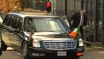Obama's Armored Limo BOTTOMS OUT in Ireland