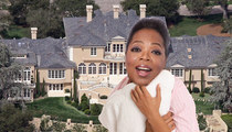 Oprah's 1st Day Off -- 'Staying In PJs All Day'
