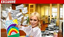 Lindsay Lohan -- The ART Of The House Arrest
