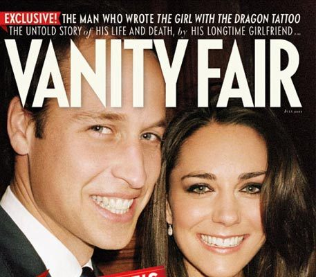 Prince William & Kate Cover Vanity Fair