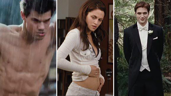'Twilight: Breaking Dawn -- Part 1' Trailer Debut!
