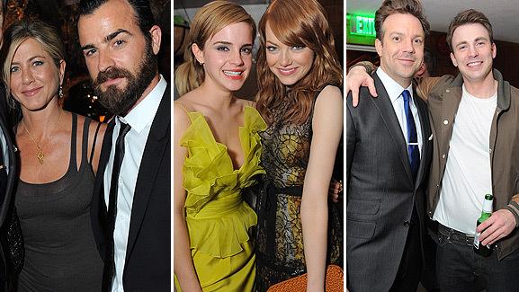 Jennifer Aniston Goes Public with Justin Theroux at MTV Bash