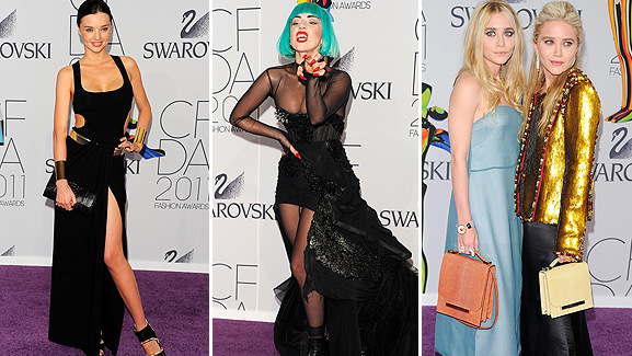 Lady Gaga Honored as Fashion Icon at CFDA Awards in NYC