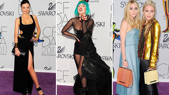 Lady Gaga Honored as Fashion Icon at CFDA Awards in NYC