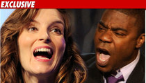 Tina Fey -- Tracy's Rant Was 'Violent,' 'Disturbing'
