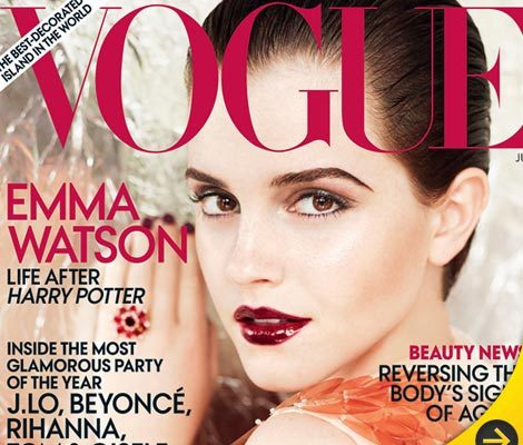 Emma Watson's Stunning Vogue Photoshoot