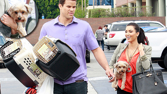Photos: Kim Kardashian & Kris Humphries Go Puppy Shopping!