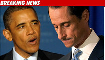 Obama:  If I Were Weiner, I'd Resign