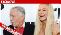 Hugh Hefner & Crystal Harris -- The Wedding is OFF!!!