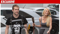 Crystal Harris -- Consoled by Dr. Phil's Son
