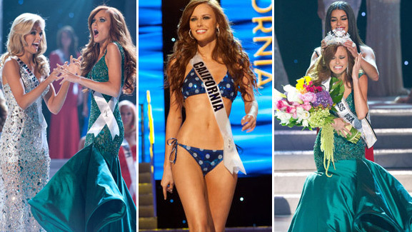 'Huge Geek' Miss California Crowned the New Miss USA!