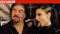 Mel Gibson's Gal Pal -- Check Out My HUGE TONGUE!!