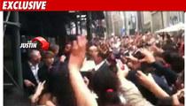 Cops: Justin Bieber's Security SCREWED UP