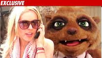 Lindsay Lohan Shoots Pre-Court COMEDY Sketch