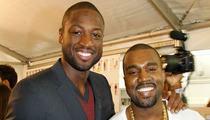 Dwyane Wade vs. Kanye West: Who'd You Rather?