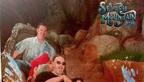 The Rock Smuggles Guns Onto Splash Mountain
