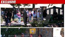Michael Jackson Fans Gather Outside Neverland