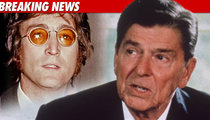 John Lennon LOVED Reagan ... Says Ex-Assistant