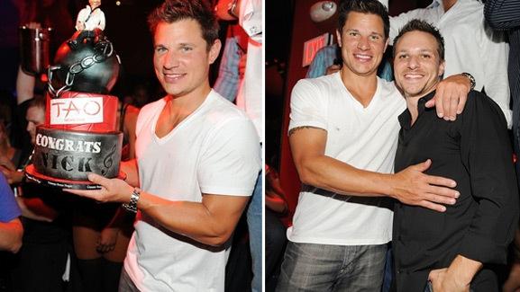 Photos: Inside Nick Lachey's Las Vegas Bachelor Party!