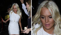 Lindsay Lohan -- Out for Birthday Dinner