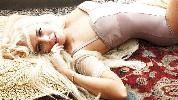 Lindsay Lohan's House Arrest Photo Shoot for Vanity Fair