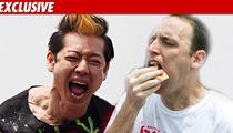Kobayashi -- My Weiner Beef Ain't With Chestnut!!