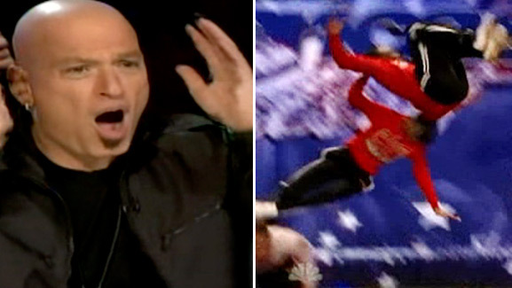 Video: Scary Flying Mishap on 'America's Got Talent'