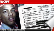 Bow Wow Not the Dad on Birth Certificate