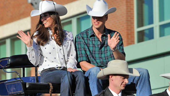Prince William & Kate Go Country in Canada