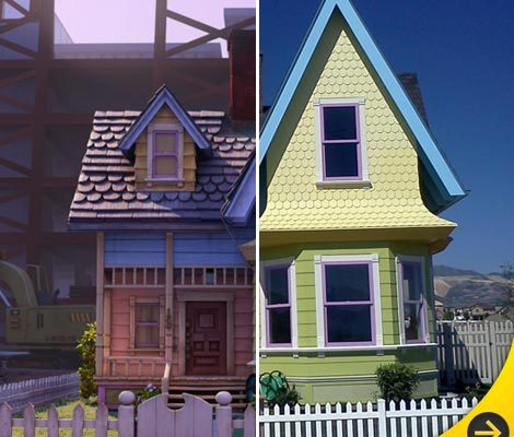 'Up' House for Sale in Real Life -- Balloons Sold Separately!