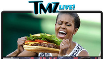 TMZ Live: Michelle's Junk Food Binge - Bad Example?