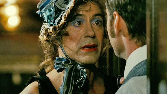 Robert Downey Jr. Does Drag for New 'Sherlock Holmes' Movie!