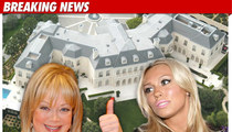 Candy Spelling's Mansion -- CLOSED