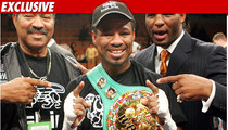 Shane Mosley Wife Gets Championship Belts in Divorce