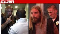 Chad Muska -- Hurls 'N' Word During Gnarly Arrest