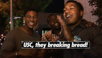 USC Football Star -- 'We All Gettin' Kim Kardashian'