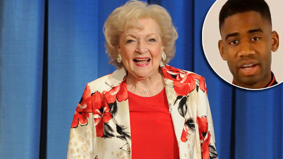 Betty White's Marine Corps Ball Invite -- Did She Accept?