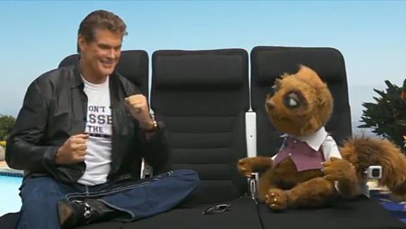 David Hasselhoff's Hilarious TV Spot