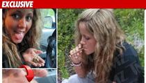 'Teen Mom' TOKES UP ... After Failing Weed Test