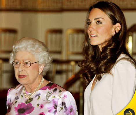 The Queen and Kate -- One on One