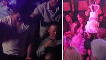 Kim K's Fiance -- Bachelor Party Sausage Fest